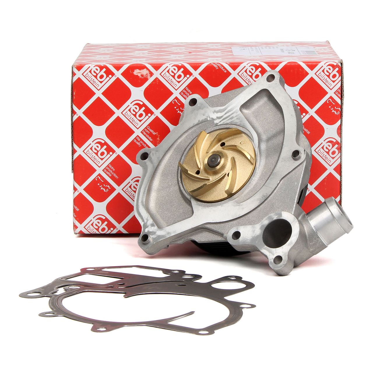 FEBI 45251 Wasserpumpe PORSCHE 996 3.4/3.6 Carrera Boxster 986 2.5 2.7 S 3.2