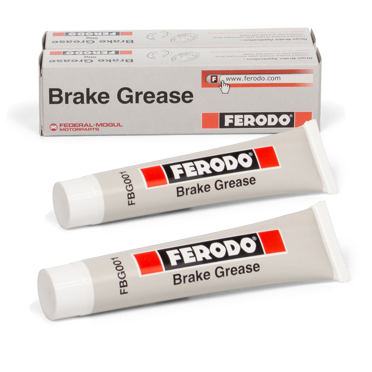 2x 75ml FERODO FBG001 BRAKE GREASE Bremsklotzpaste Bremsbelagpaste Montagepaste