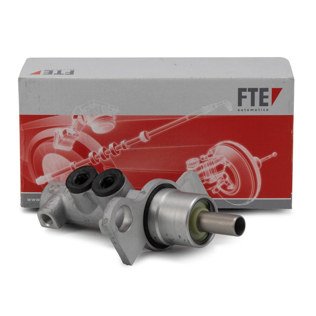 FTE Hauptbremszylinder für PORSCHE 996 997 + CABRIO 3.6 Carrera BOXSTER CAYMAN