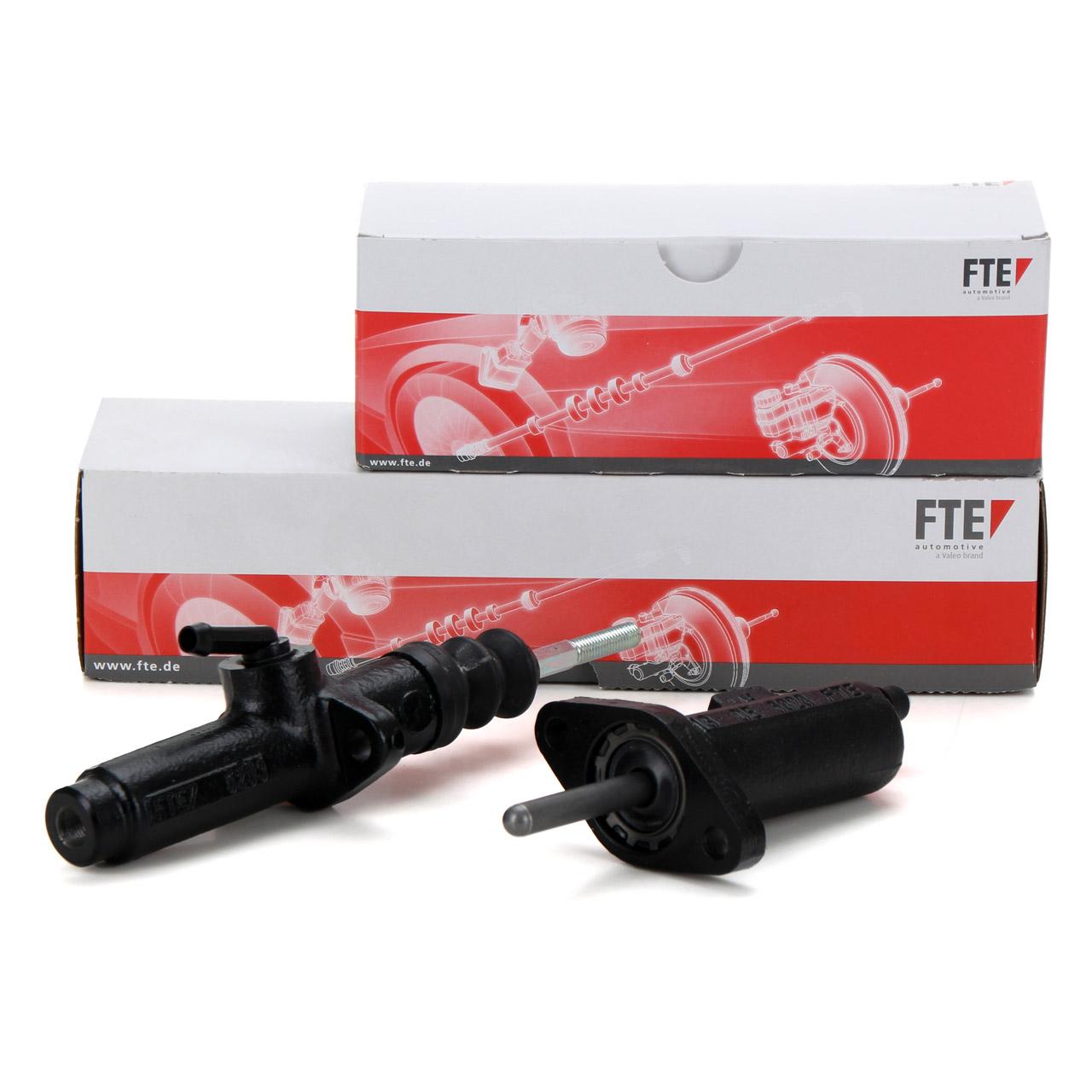 FTE Nehmerzylinder + Geberzylinder PORSCHE 924 2.0 2.5 S 944 2.5 S-3.0 S2