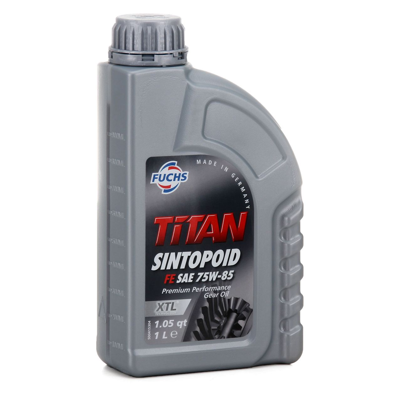 FUCHS Achsöl Achsgetriebeöl TITAN SINTOPOID FE SAE 75W-85 API GL-5 - 1 Liter