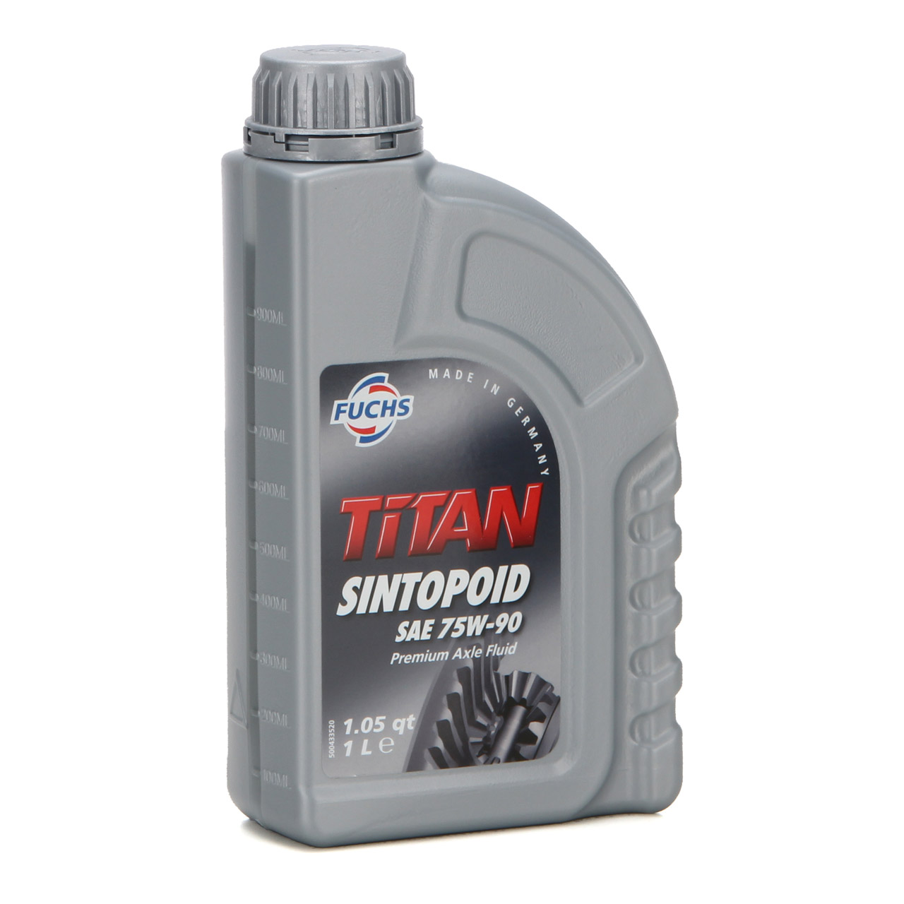 FUCHS Getriebeöl Achsgetriebeöl TITAN SINTOPOID SAE 75W-90 75W90 - 1L 1 Liter
