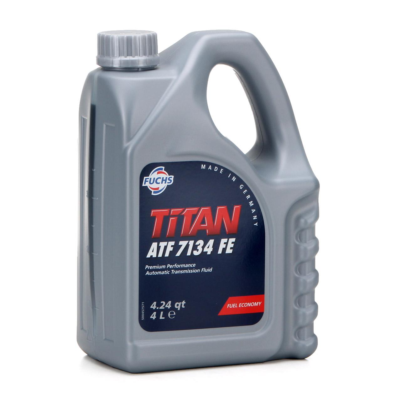 FUCHS Getriebeöl Automatikgetriebeöl TITAN ATF 7134 FE 4L 4 Liter MB 236.15