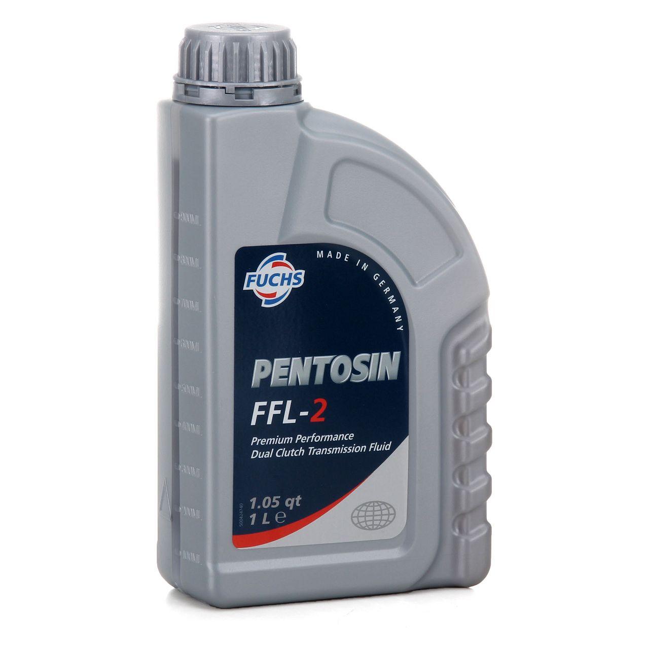 FUCHS Pentosin Getriebeöl Doppelkupplungsgetriebe 6-&7-Gang DSG FFL-2 - 1 Liter