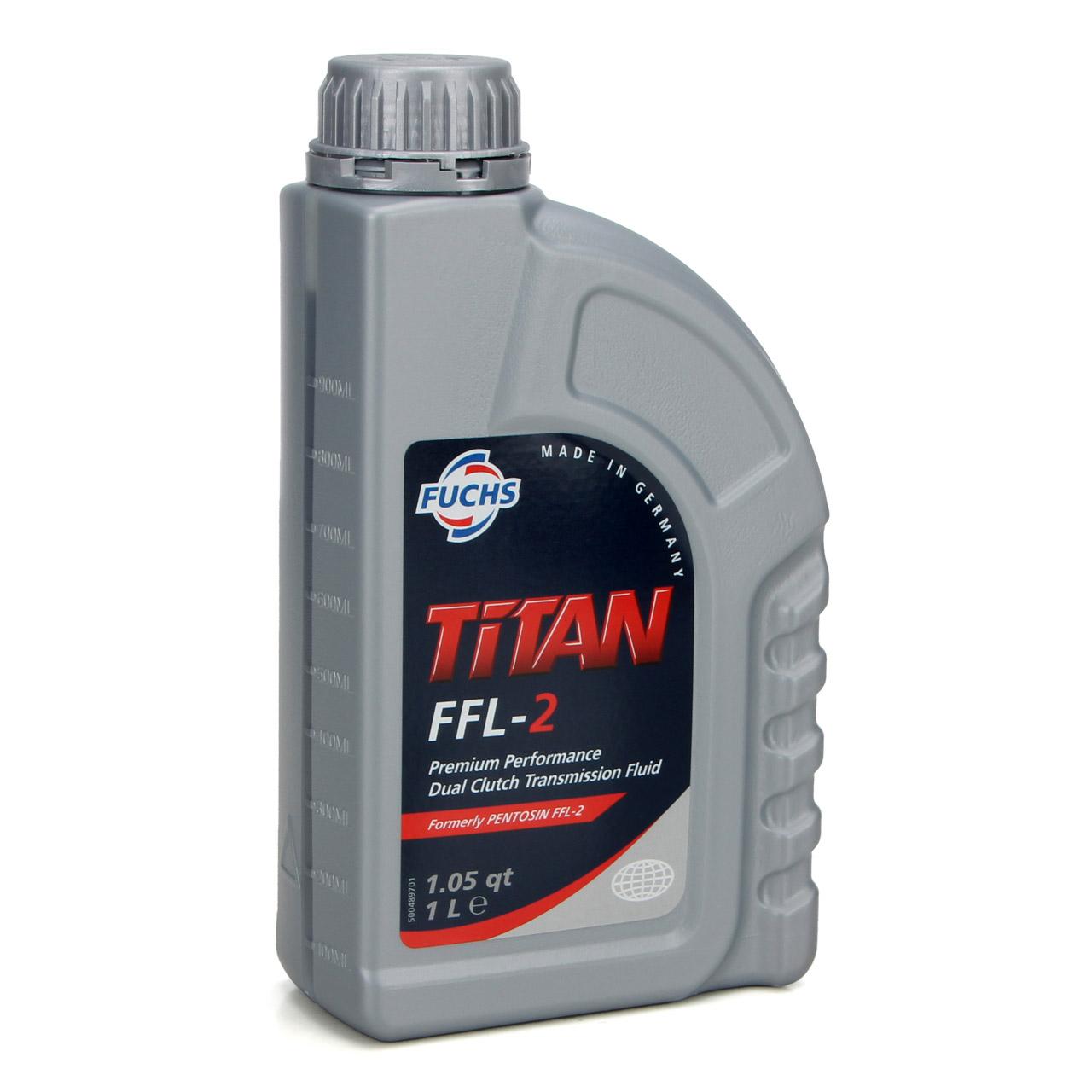 FUCHS Pentosin Getriebeöl DSG FFL-2 - 6L ORIGINAL Getriebefilter Befüllschlauch