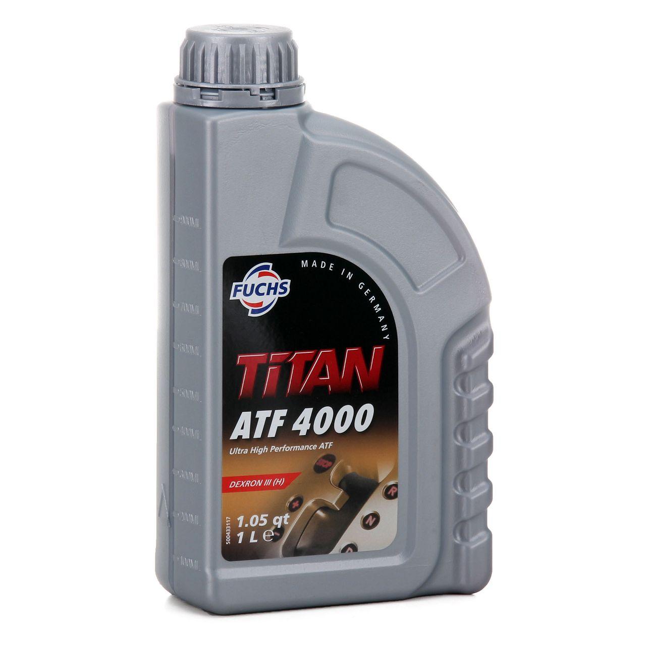 FUCHS Getriebeöl Automatikgetriebeöl TITAN ATF 4000 1L 1 Liter MB 236.1