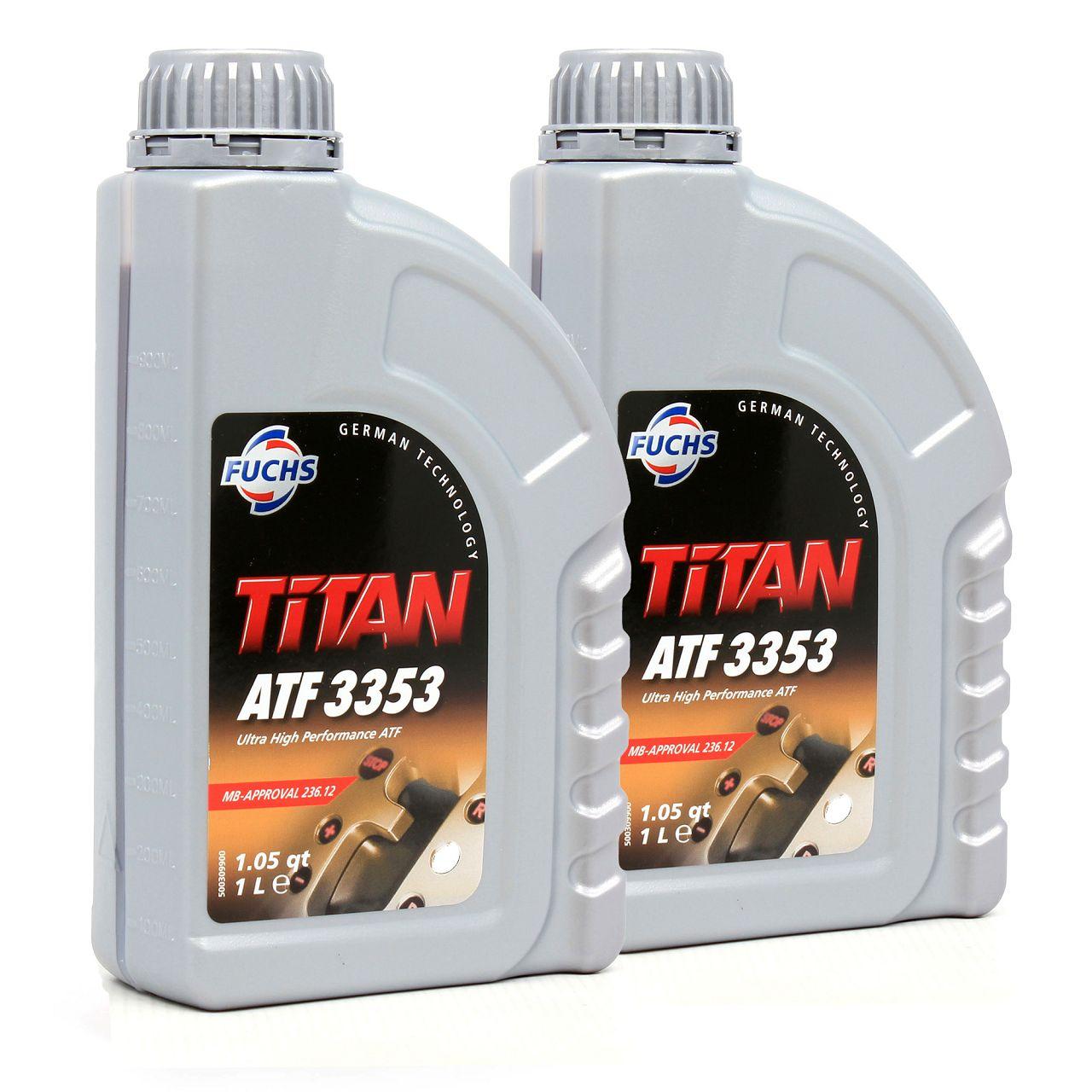 FUCHS Automatikgetriebeöl TITAN ATF 3353 MB 236.12 für VW TL 52533 - 2L 2 Liter