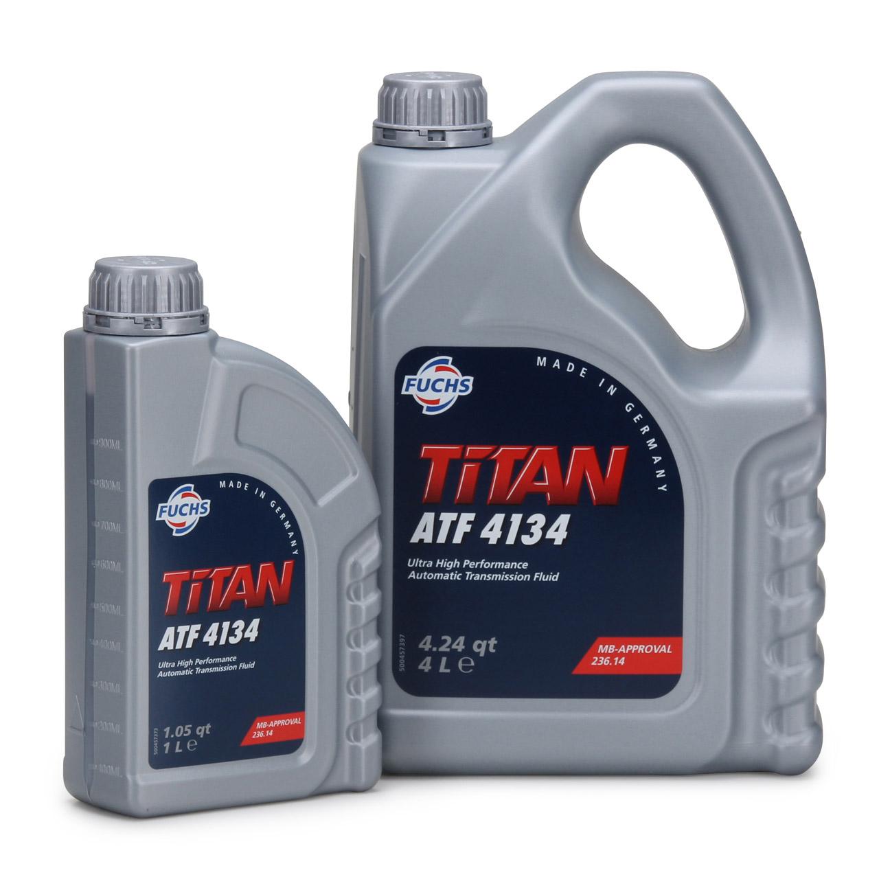 FUCHS Getriebeöl Automatikgetriebeöl TITAN ATF 4134 5L 5 Liter MB 236.14