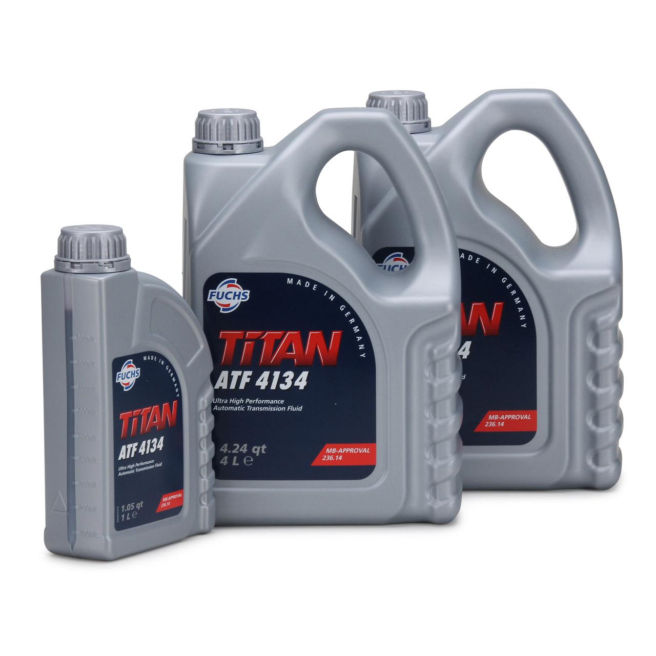 FUCHS Getriebeöl Automatikgetriebeöl TITAN ATF 4134 9L 9 Liter MB 236.14