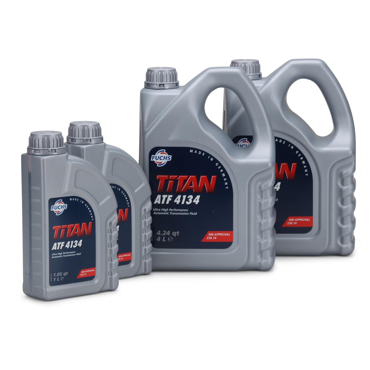 FUCHS Getriebeöl Automatikgetriebeöl TITAN ATF 4134 10L 10 Liter MB 236.14