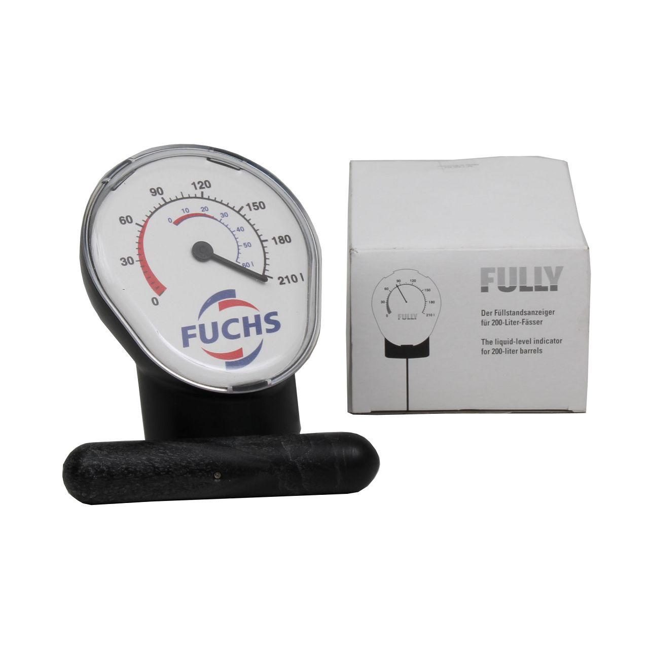 FUCHS 800226402 Füllstandsanzeige für 60 und 200 Liter Fässer Ölfass