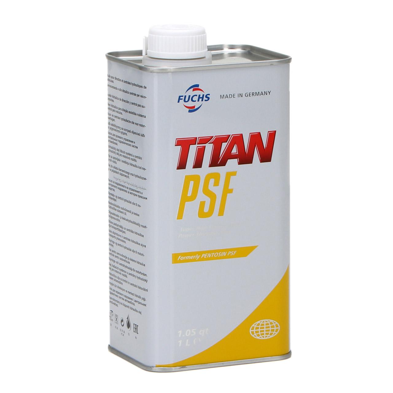 FUCHS Pentosin TITAN Hydrauliköl Zentralhydrauliköl PSF MB 236.3 - 1L 1 Liter