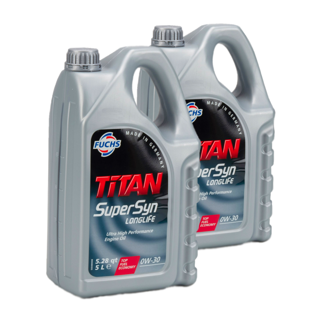 FUCHS Motoröl ÖL TITAN SUPERSYN LONGLIFE 0W30 MB 229.5 VW 502/505.00 - 10 Liter