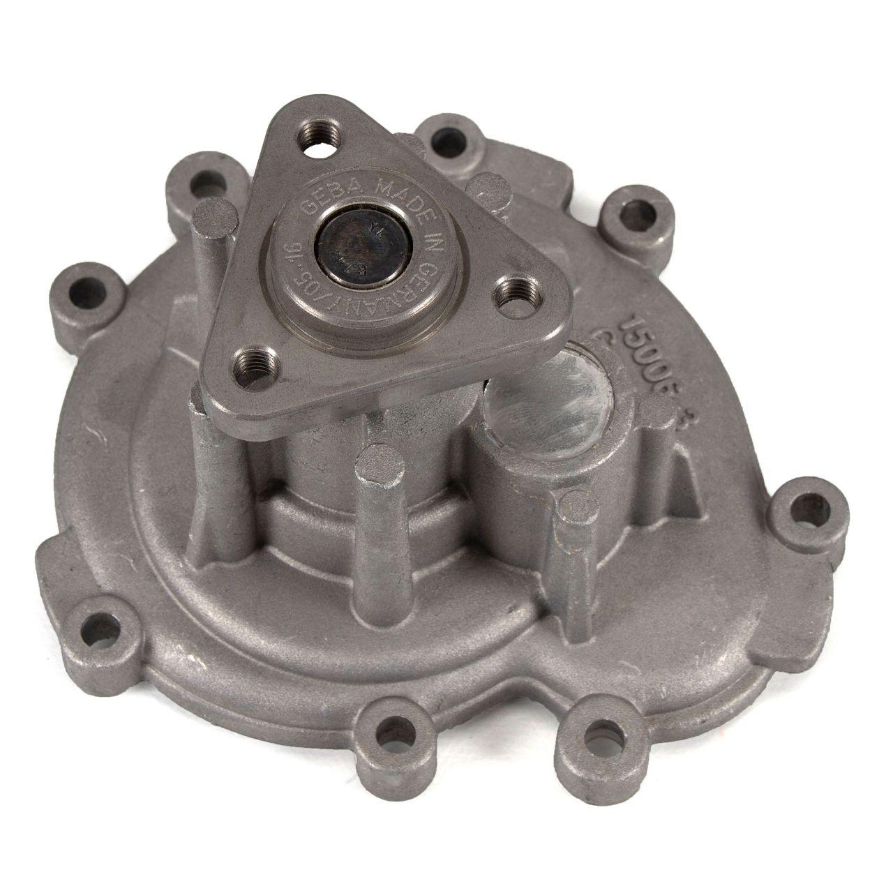 GEBA 15006 Wasserpumpe für PORSCHE CAYENNE (9PA) S 4.5 / Turbo 4.5 / Turbo S 4.5