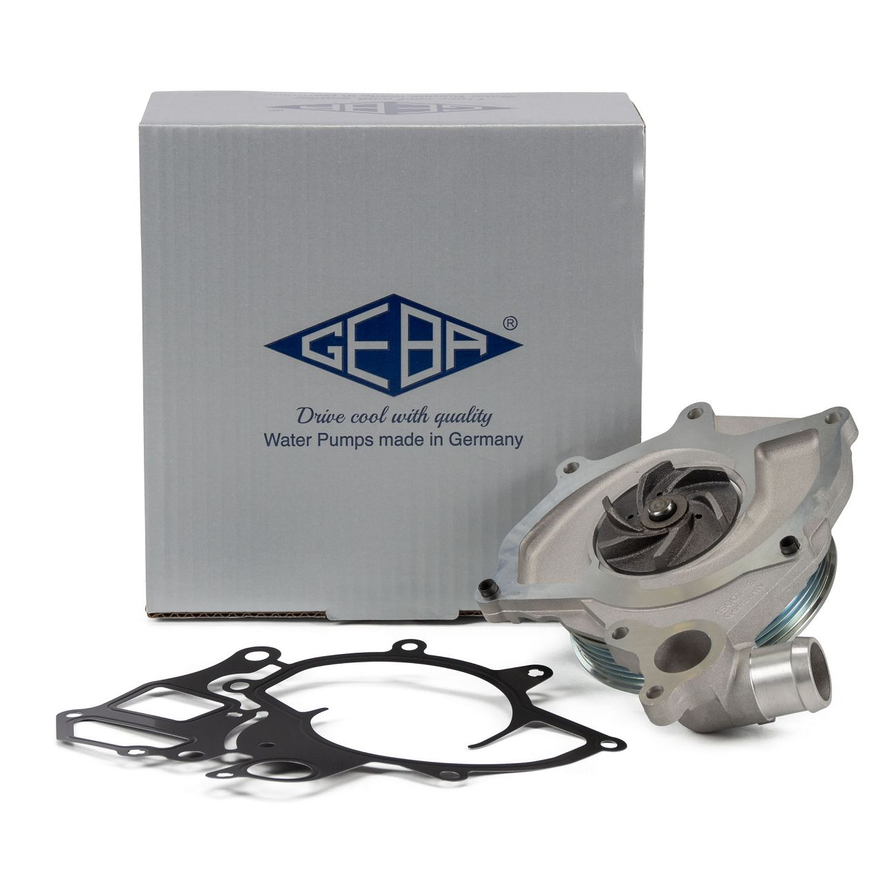 GEBA Wasserpumpe für PORSCHE 911 996 3.4/3.6 Carrera BOXSTER 986 2.5 2.7 S 3.2