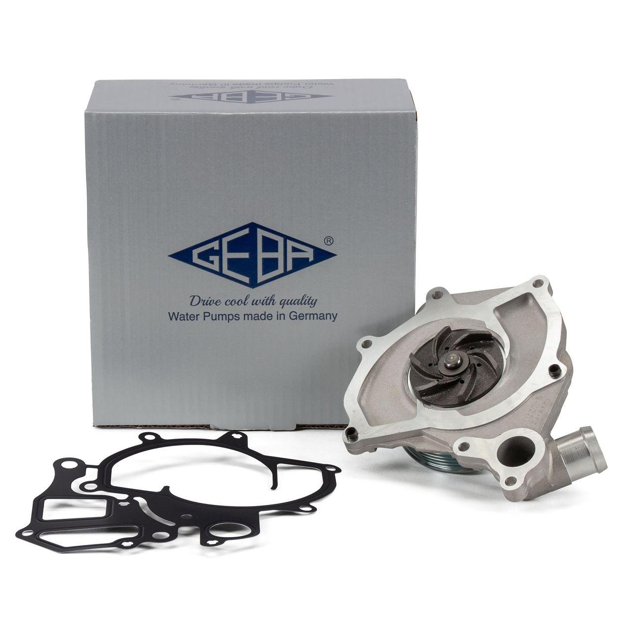 GEBA 15012 Wasserpumpe für PORSCHE 911 (996) 3.6 GT3 + 3.6 Turbo / S + 3.6 GT2