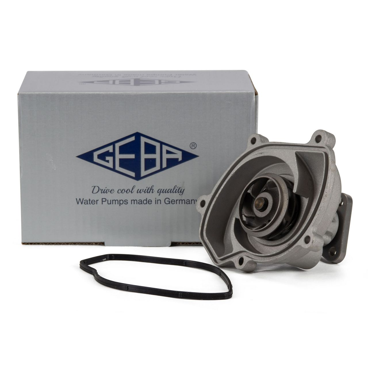 GEBA 15016 Wasserpumpe für PORSCHE PANAMERA (970) 3.6 300 / 310 PS