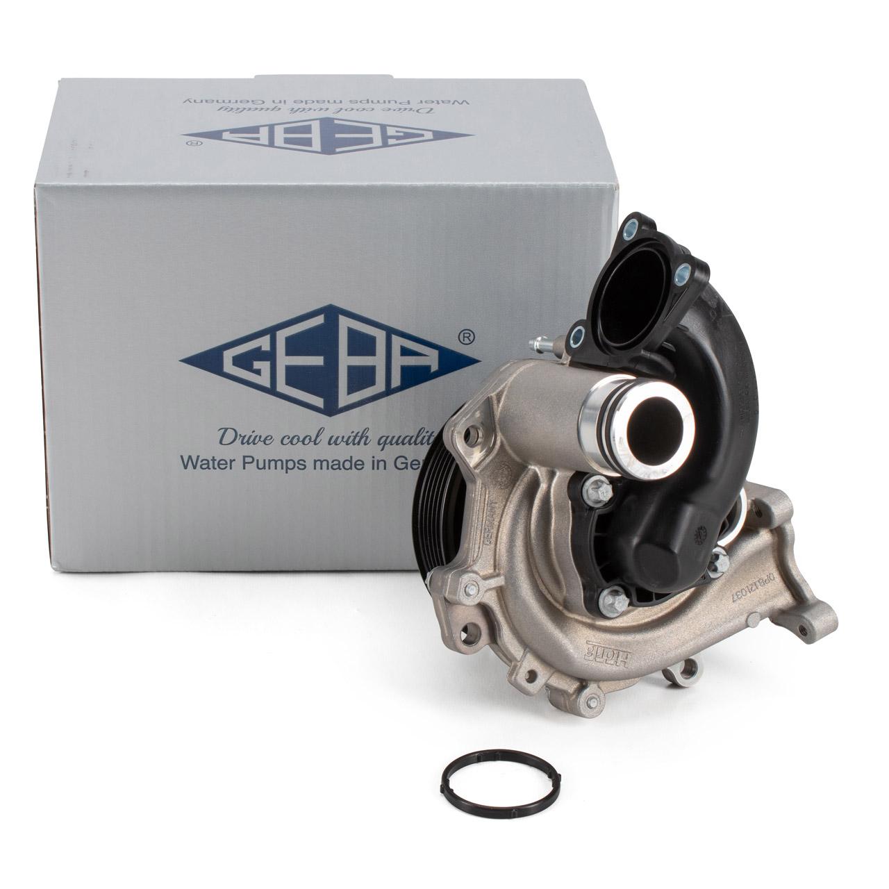 GEBA 1518/1 Wasserpumpe PORSCHE 991 992 3.0 Carrera / S / T / GTS 0PB121010D