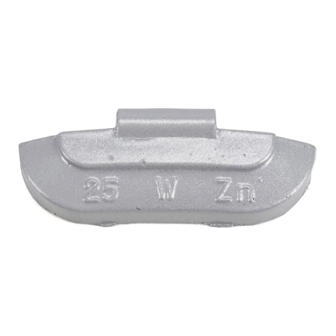 GEMATIC Auswuchtgewicht Schlaggewicht für Stahlfelge GRAU-ZINK 100 Stück x 25g