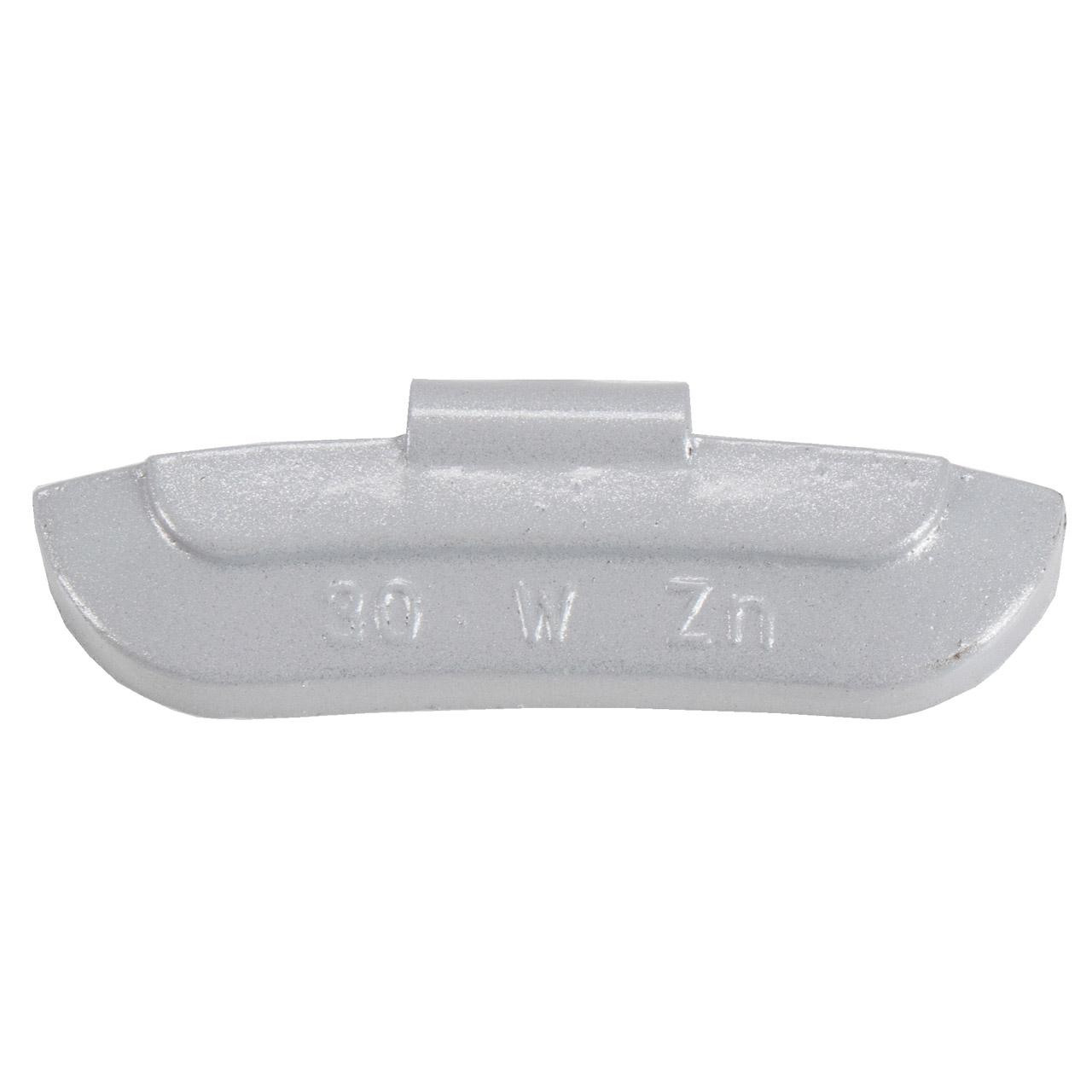 GEMATIC Auswuchtgewicht Schlaggewicht für Stahlfelge GRAU-ZINK 100 Stück x 30g