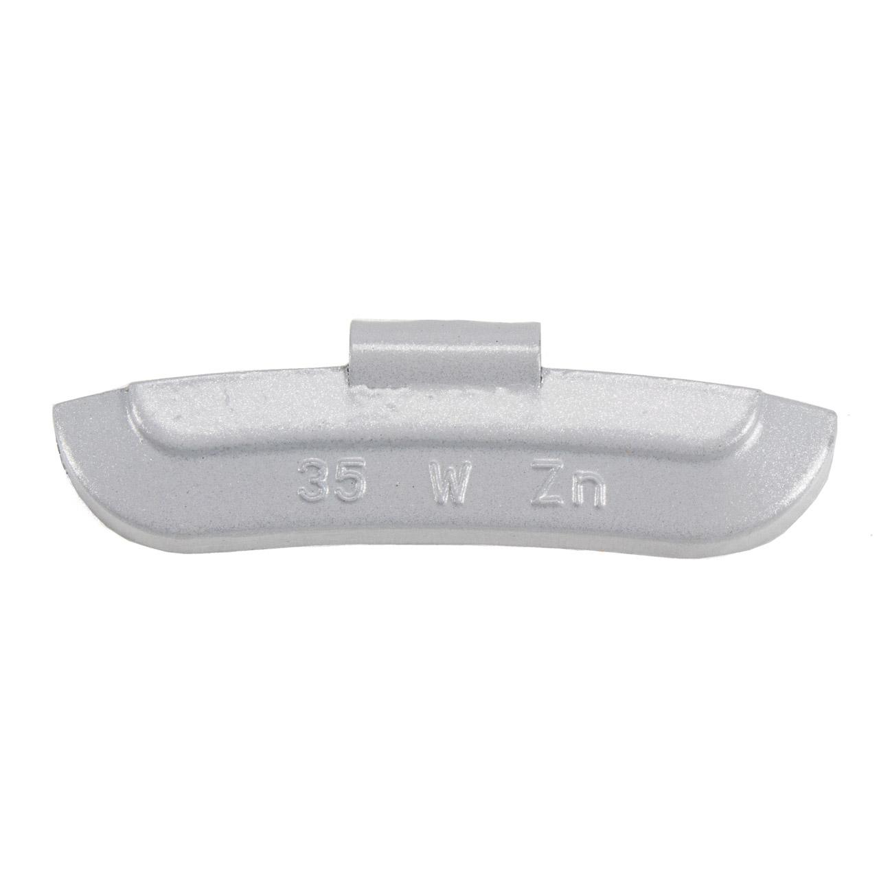 GEMATIC Auswuchtgewicht Schlaggewicht für Stahlfelge GRAU-ZINK 50 Stück x 35g