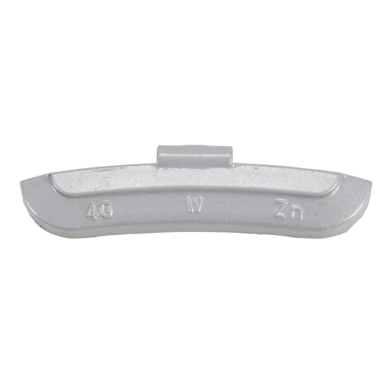 GEMATIC Auswuchtgewicht Schlaggewicht für Stahlfelge GRAU-ZINK 50 Stück x 40g