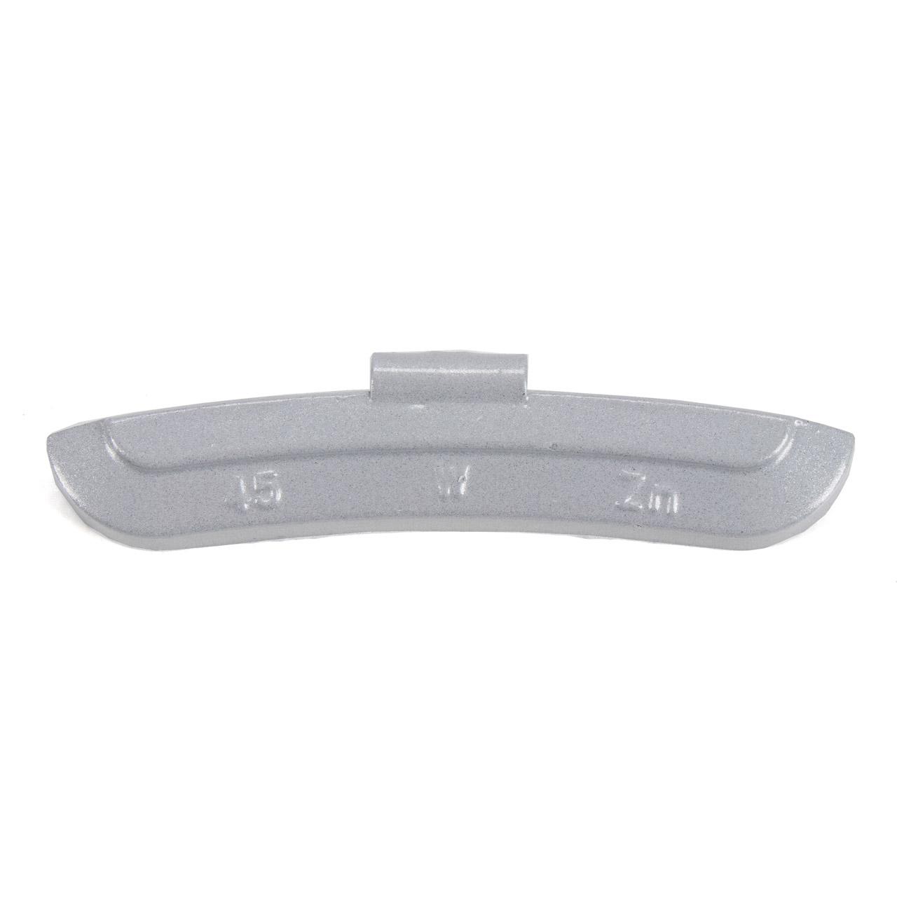 GEMATIC Auswuchtgewicht Schlaggewicht für Stahlfelge GRAU-ZINK 50 Stück x 45g