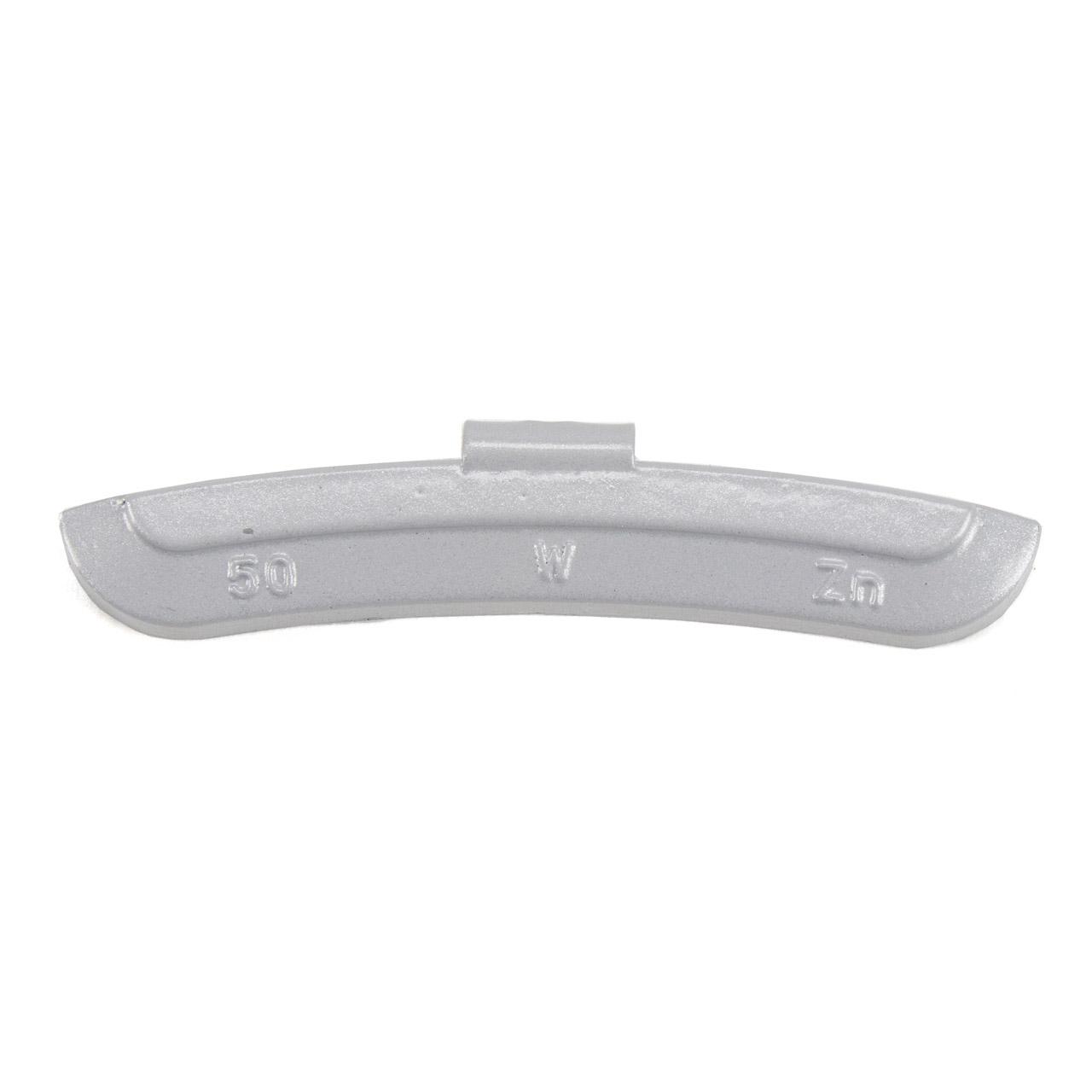 GEMATIC Auswuchtgewicht Schlaggewicht für Stahlfelge GRAU-ZINK 50 Stück x 50g