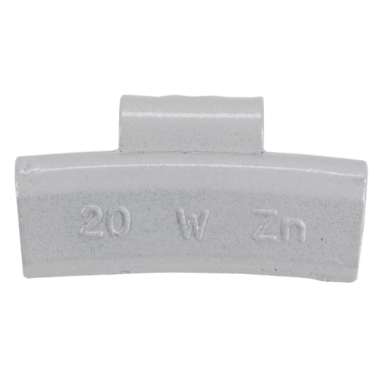 GEMATIC Auswuchtgewicht Schlaggewicht für Alufelge GRAU-ZINK 100 Stück x 20g