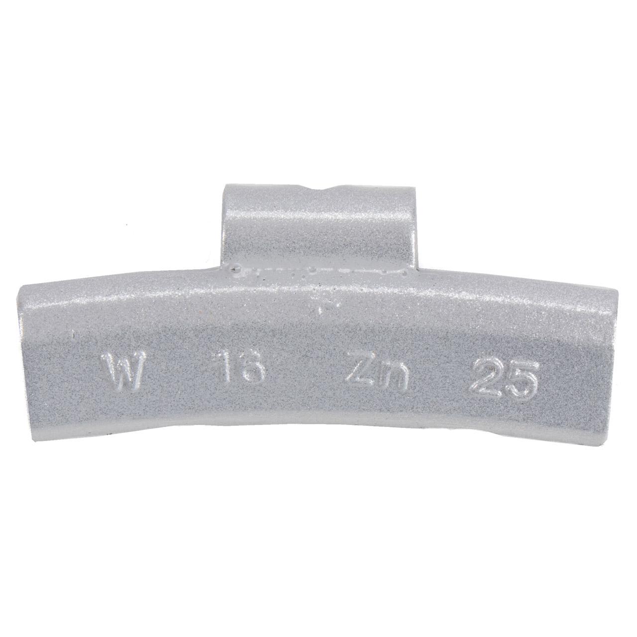 GEMATIC Auswuchtgewicht Schlaggewicht für Alufelge GRAU-ZINK 100 Stück x 25g