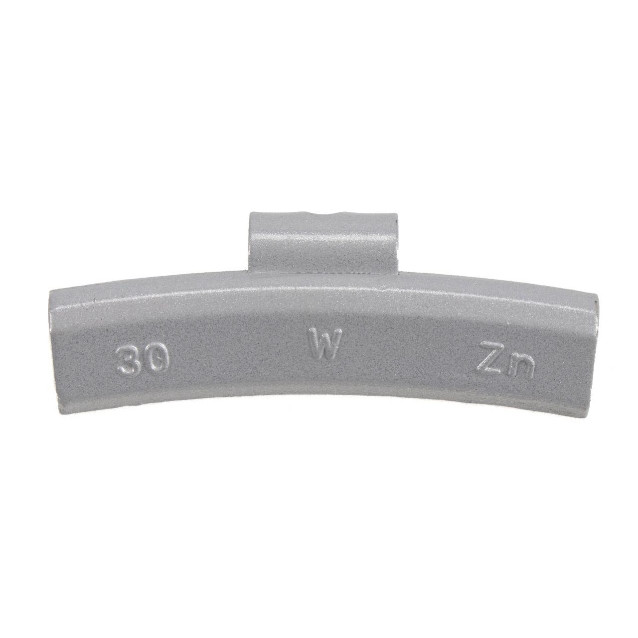 GEMATIC Auswuchtgewicht Schlaggewicht für Alufelge GRAU-ZINK 100 Stück x 30g
