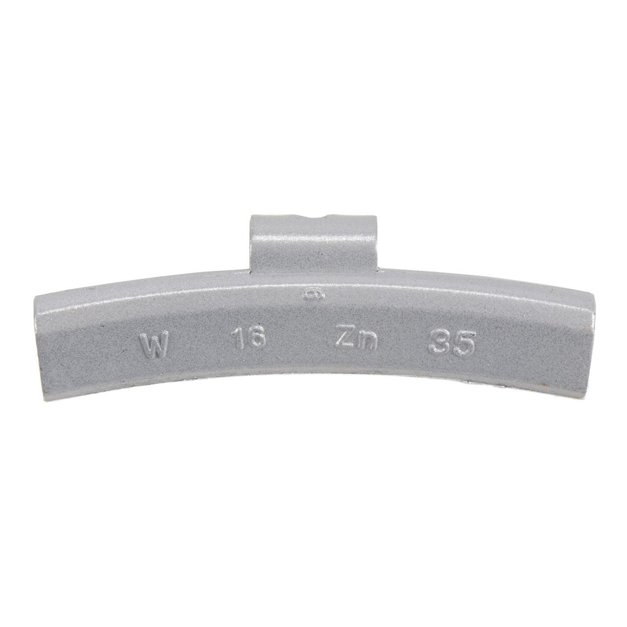 GEMATIC Auswuchtgewicht Schlaggewicht für Alufelge GRAU-ZINK 50 Stück x 35g