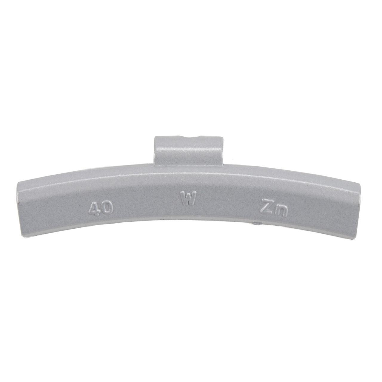 GEMATIC Auswuchtgewicht Schlaggewicht für Alufelge GRAU-ZINK 50 Stück x 40g