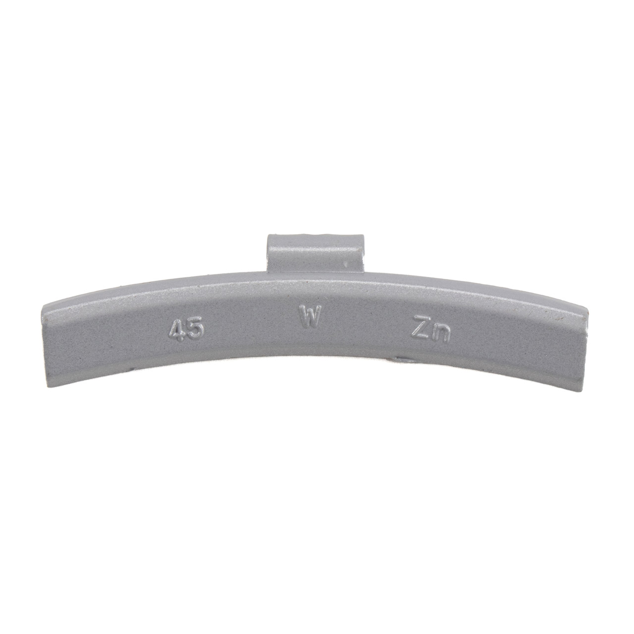 GEMATIC Auswuchtgewicht Schlaggewicht für Alufelge GRAU-ZINK 50 Stück x 45g