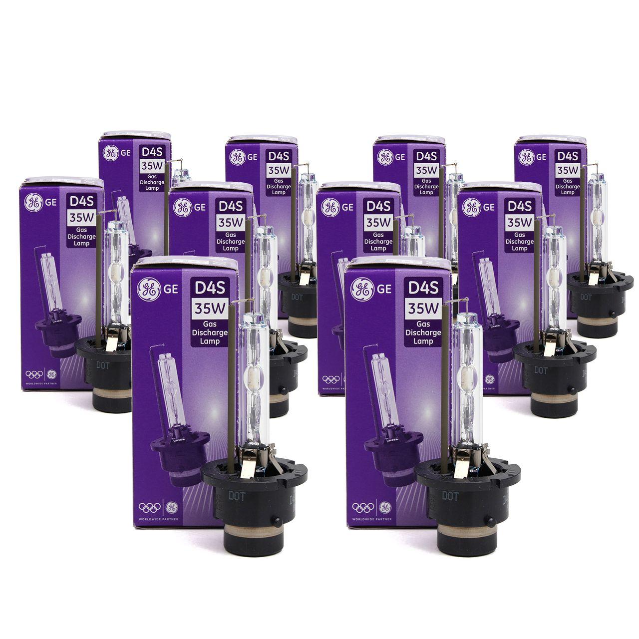 10x GE LIGHTING Xenon Brenner Scheinwerfer Lampe Glühlampe D4S 42V 35W P32d-5