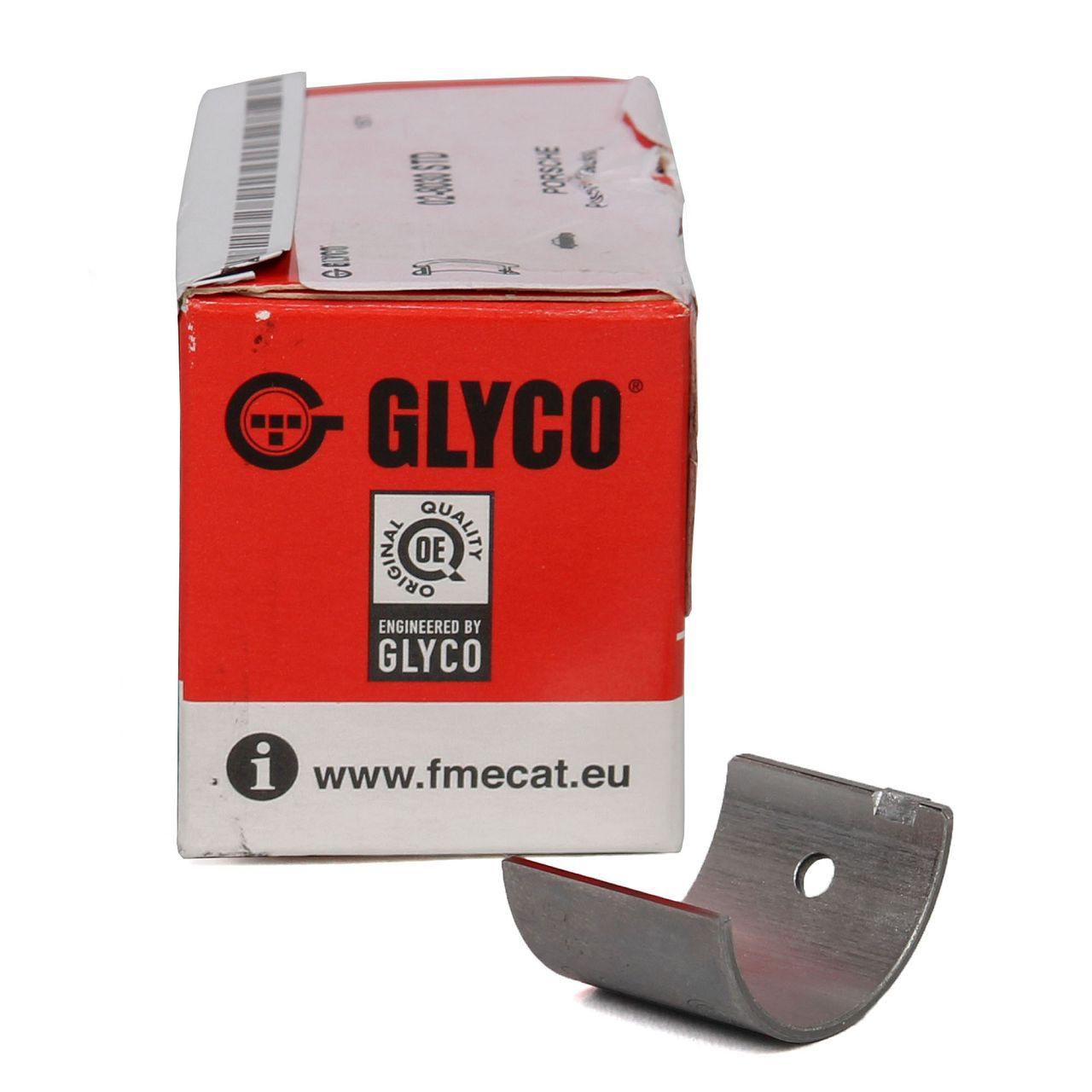 2x GLYCO Lagerschale Gleitlager Zwischenwelle PORSCHE 993 996 997 99610143570