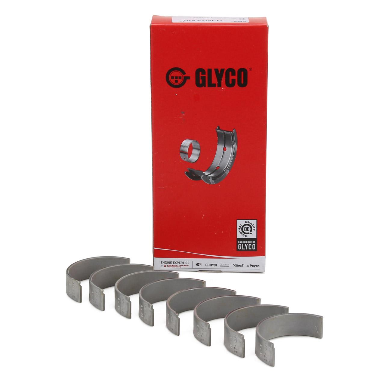 GLYCO 71-1971/4 STD Pleuellager Satz PORSCHE 356 1300 1500 A/B/C 1600 + 912 1.6