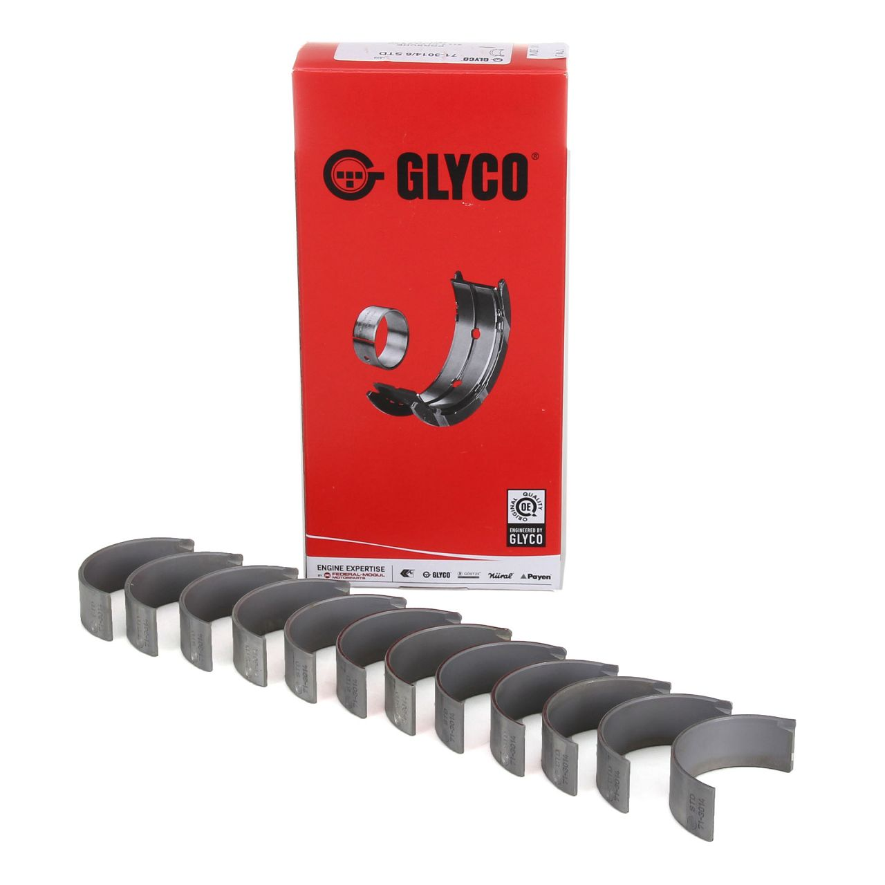 GLYCO 71-3014/6 STD Pleuellager Satz PORSCHE 2.3 2.7 3.0 150-209 PS 1971-1979