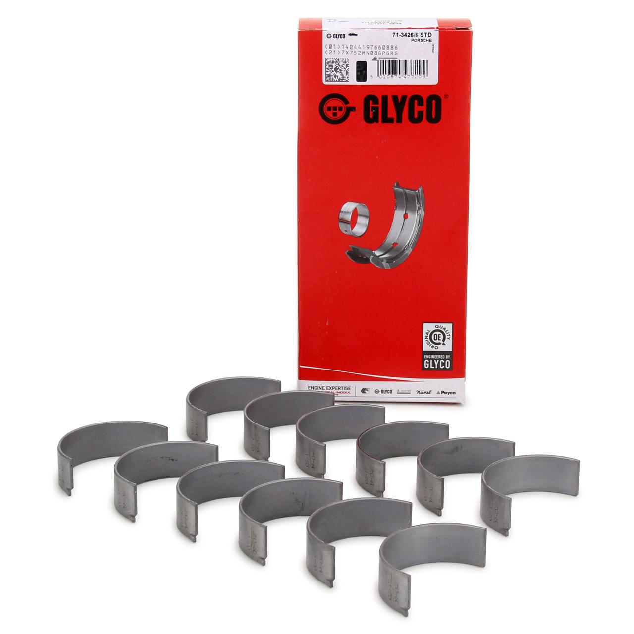 GLYCO 71-3426/6 STD Pleuellager Satz PORSCHE 911 3.0 SC + SC Carrera 1977-1983