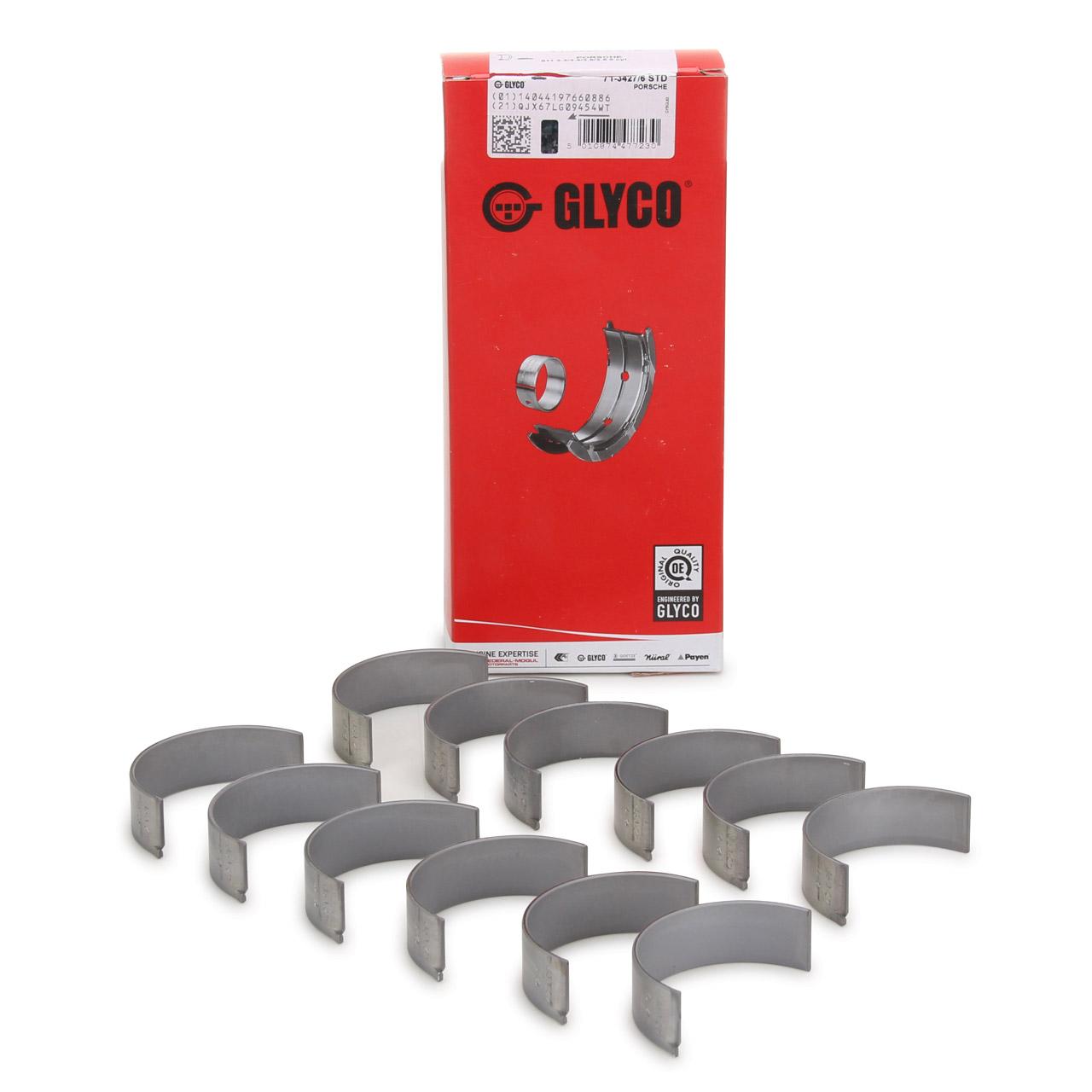 GLYCO 71-3427/6 STD Pleuellager Satz PORSCHE 911 3.2 3.3 + 964 3.6 Carrera / RS