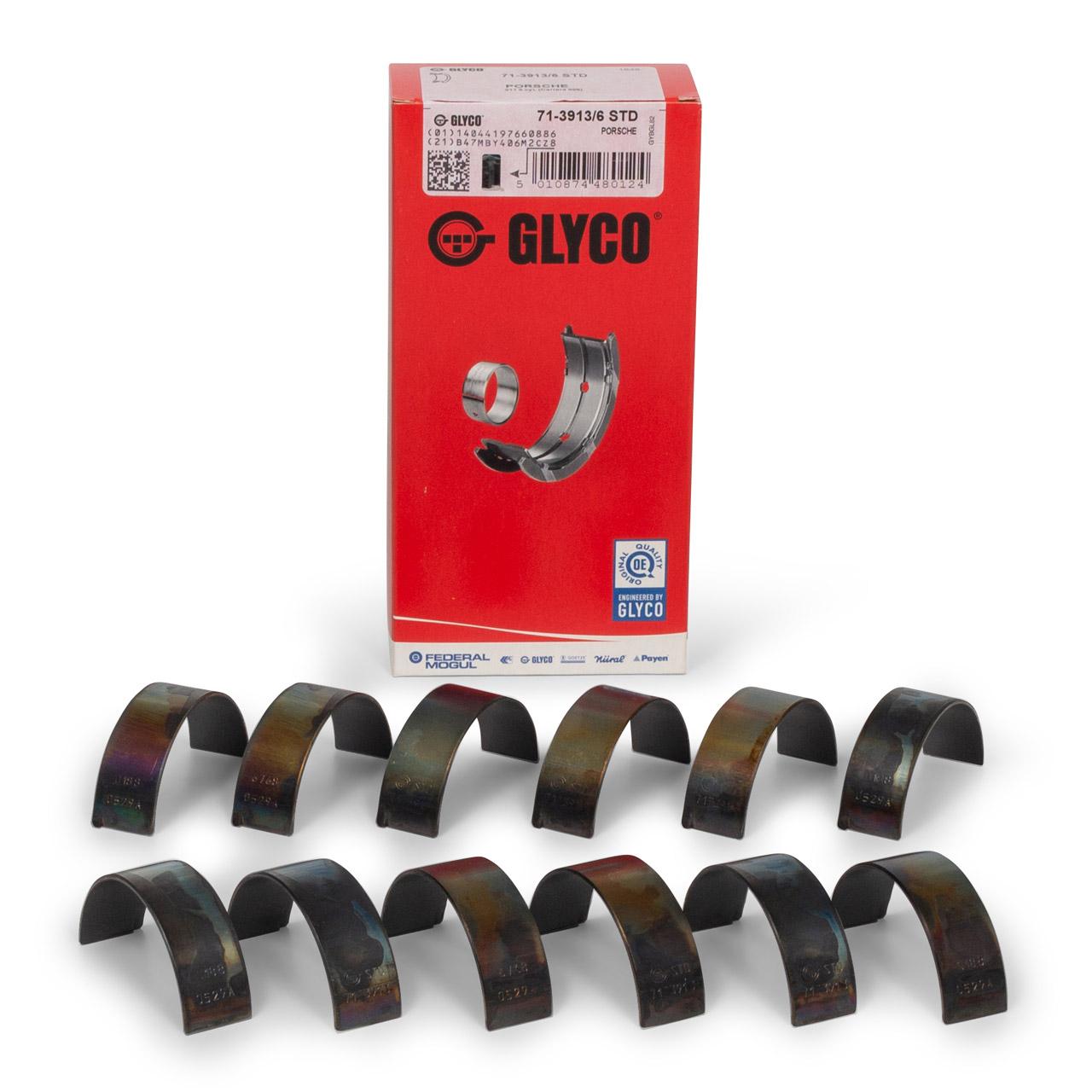 GLYCO 7139136STD Pleuellagersatz PORSCHE 996 3.6 GT3 360 PS 99610312181