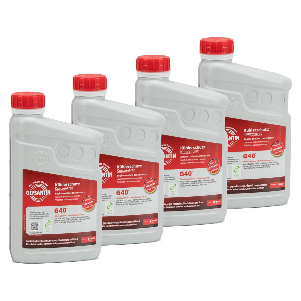BASF GLYSANTIN Frostschutz Kühlerfrostschutz Konzentrat G40 PINK 4L 4 Liter