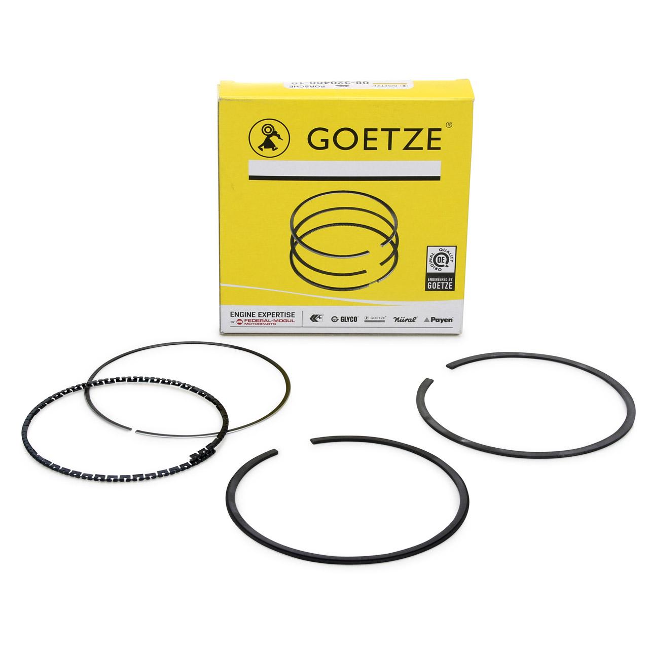 GOETZE 08-320400-10 Kolbenringsatz PORSCHE 924 2.5 S 944 2.5 / S 94410397300