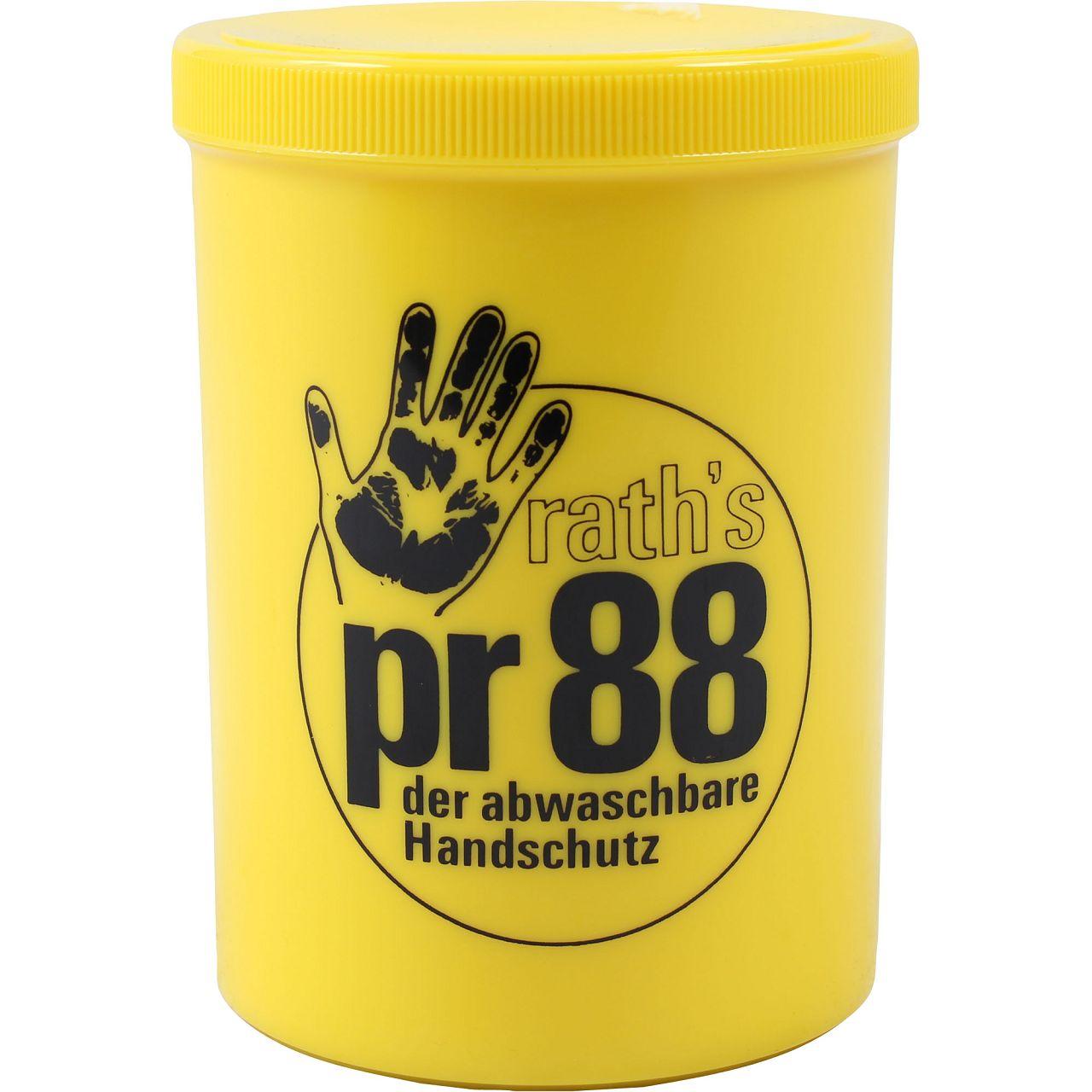 RATH's Creme PR 88 Hautschutz der abwaschbare Handschuh Handcreme 1L 1 Liter