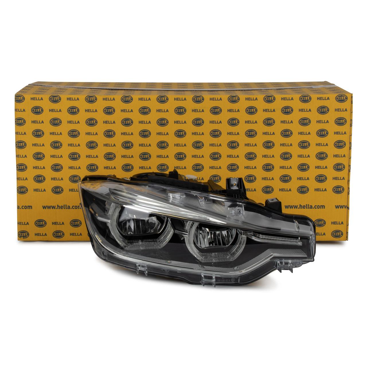 HELLA 1EX012102921 Hauptscheinwerfer + Stellmotor LED BMW 3er F30 F31 F80 rechts