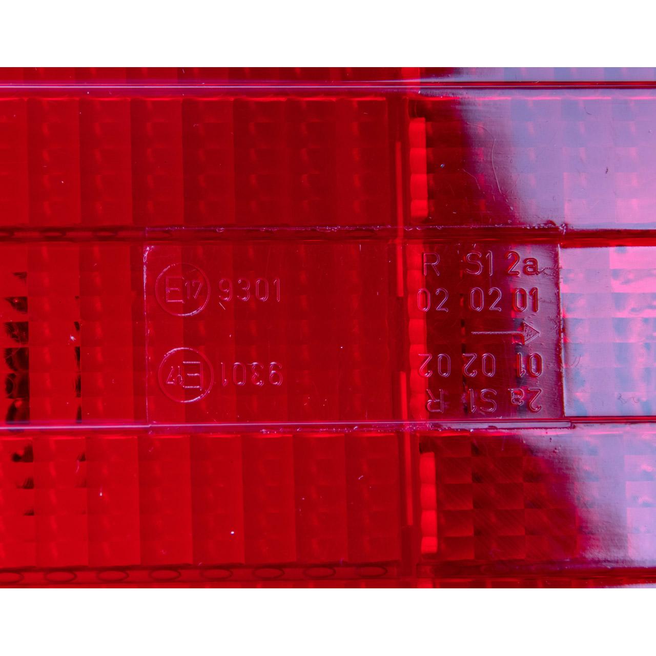 HELLA 2SD004460011 Heckleuchte 12V + Glühlampen FENDT BOBBYCAR HYMER hinten