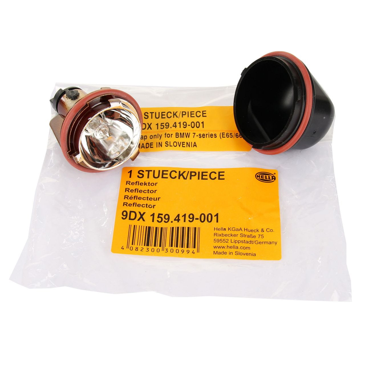 HELLA Halogenlampe Reflektor Positions- Begrenzungsleuchte BMW E60 E61 E65-67 X5 E53