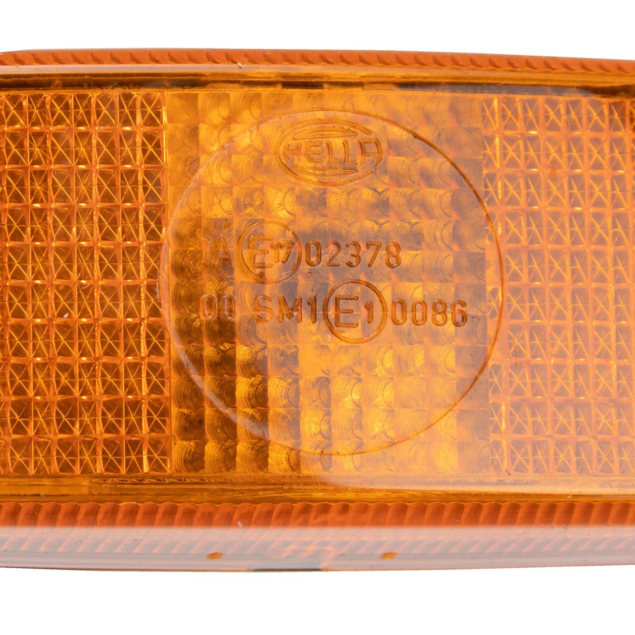 HELLA 2PS 006 717-031 Seitenmarkierungsleuchte Umrissleuchte Anbau links rechts