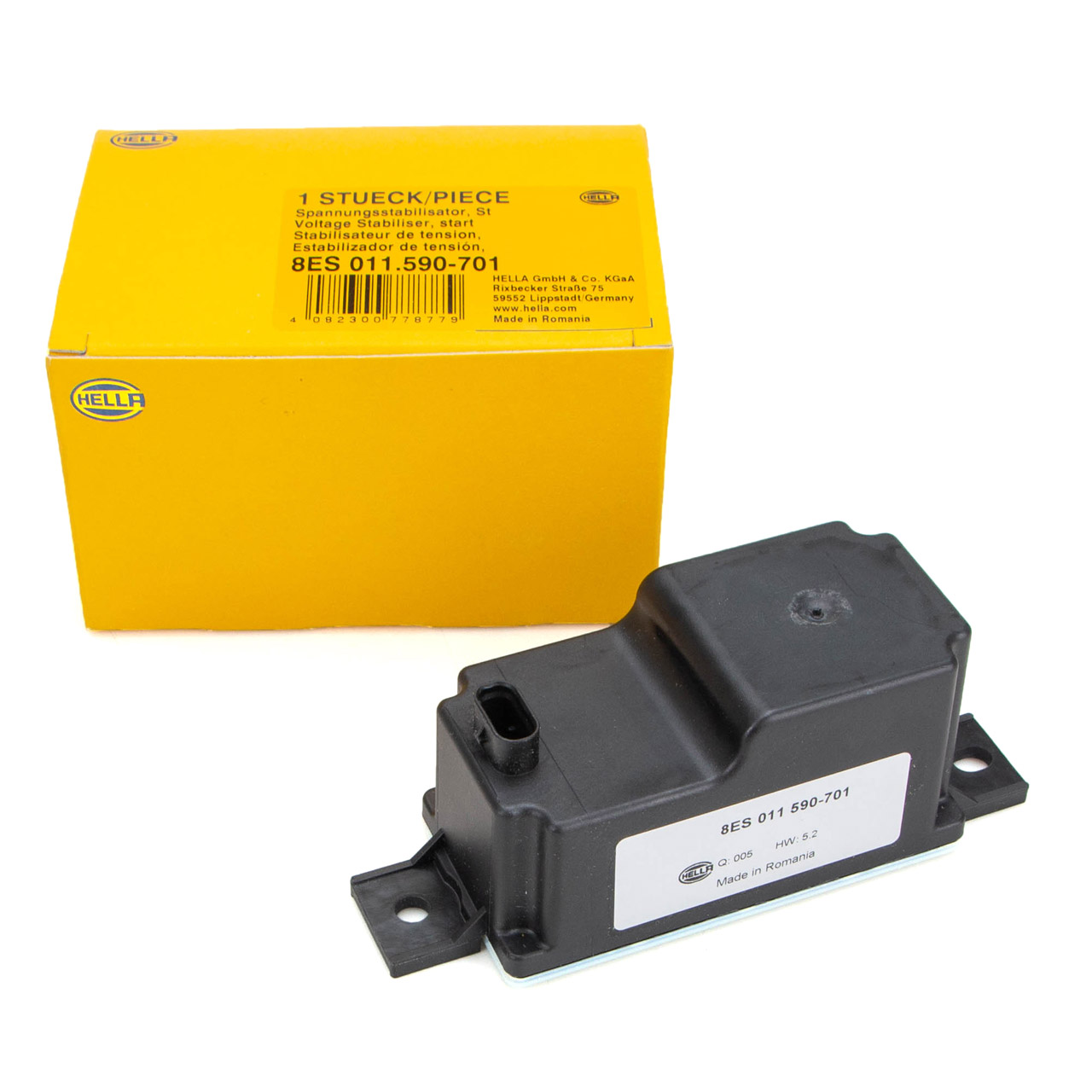 HELLA Spannungsstabilisator Start-/Stopp-System MERCEDES W205 W213 X253 W167 2059053414
