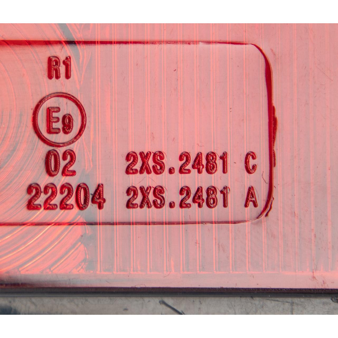 HELLA 2XS 005 020-011 Umrissleuchte Begrenzungsleuchte seitlicher ANBAU links / rechts